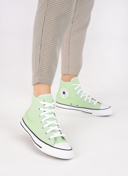 Baskets Converse Chuck Taylor All Star Seasonal Color Hi W Vert vue bas / vue portée sac