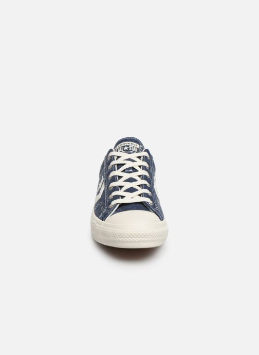 Baskets Converse Star Player Sun Backed Ox Bleu vue portées chaussures