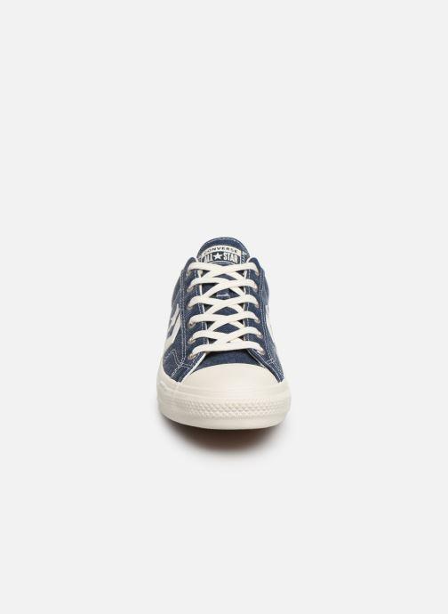 Sneaker Converse Star Player Sun Backed Ox blau schuhe getragen