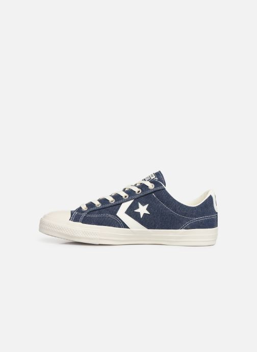 Baskets Converse Star Player Sun Backed Ox Bleu vue face