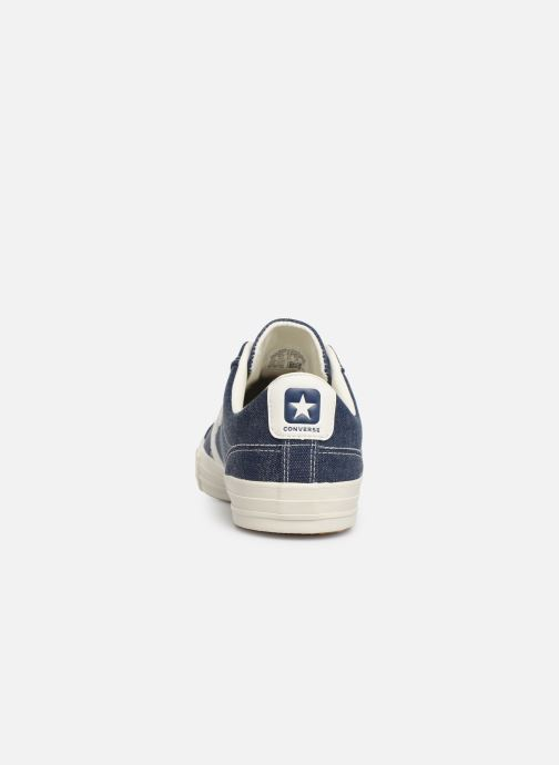 Baskets Converse Star Player Sun Backed Ox Bleu vue droite