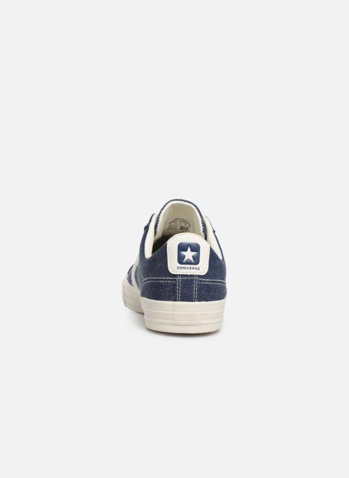 Sneaker Converse Star Player Sun Backed Ox blau ansicht von rechts