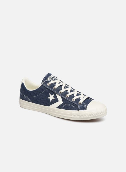 Trainers Converse Star Player Sun Backed Ox Blue detailed view/ Pair view
