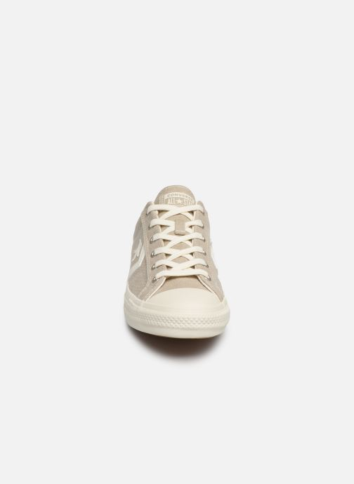 Baskets Converse Star Player Sun Backed Ox Gris vue portées chaussures