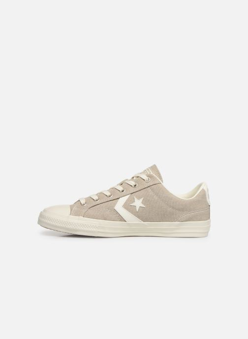 Trainers Converse Star Player Sun Backed Ox Grey front view