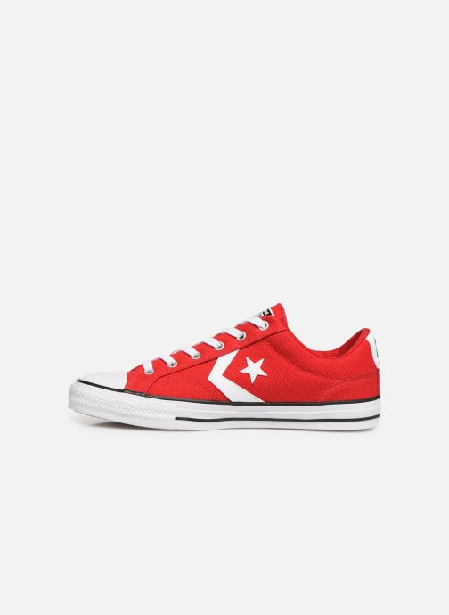 Baskets Converse Star Player Beach Flow Ox Rouge vue face