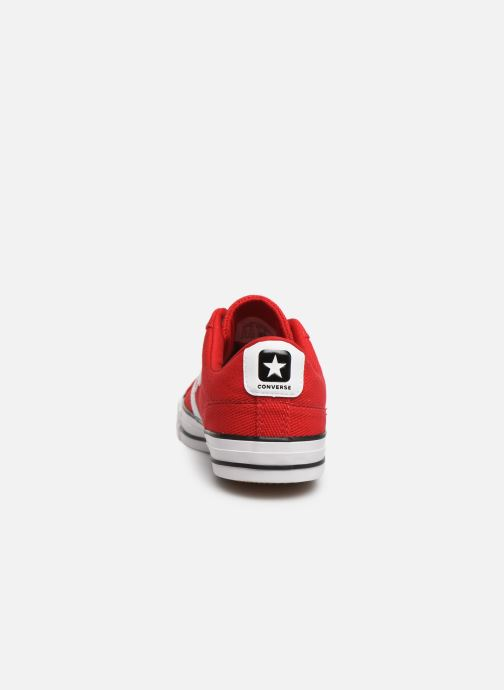 Baskets Converse Star Player Beach Flow Ox Rouge vue droite