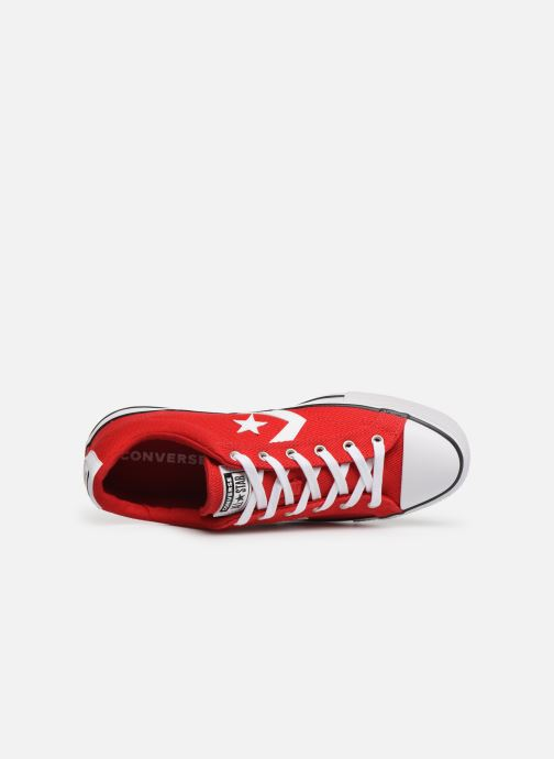 Baskets Converse Star Player Beach Flow Ox Rouge vue gauche