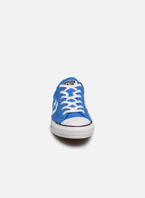 Sneaker Converse Star Player Beach Flow Ox blau schuhe getragen