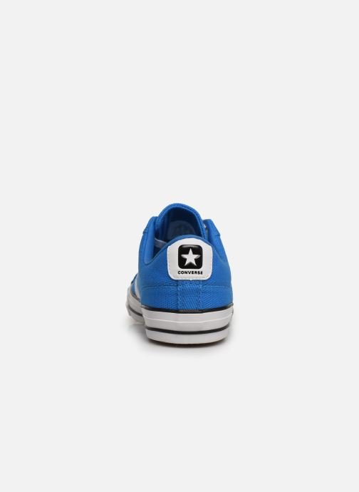 Baskets Converse Star Player Beach Flow Ox Bleu vue droite