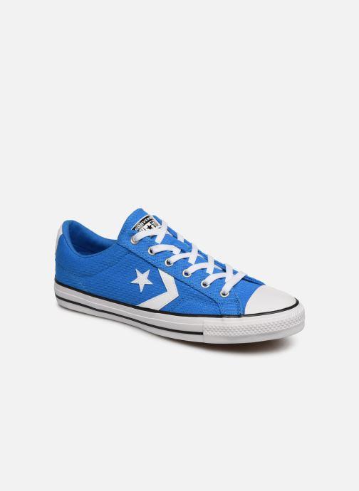 Sneaker Converse Star Player Beach Flow Ox blau detaillierte ansicht/modell