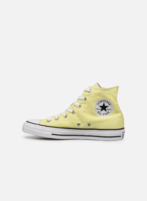 Trainers Converse Chuck Taylor All Star Seasonal Color Extension Hi Yellow front view