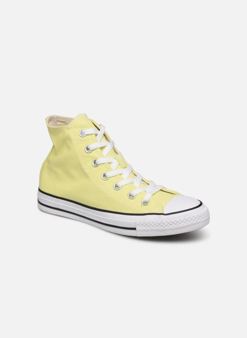 Trainers Converse Chuck Taylor All Star Seasonal Color Extension Hi Yellow detailed view/ Pair view