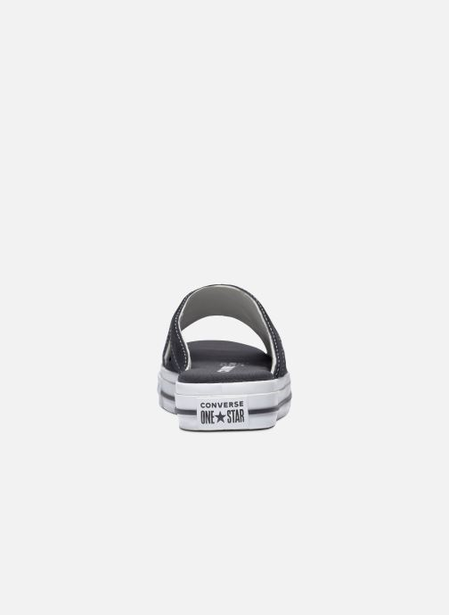 Slippers Converse One Star Sandal Sandalism Slip Zwart achterkant