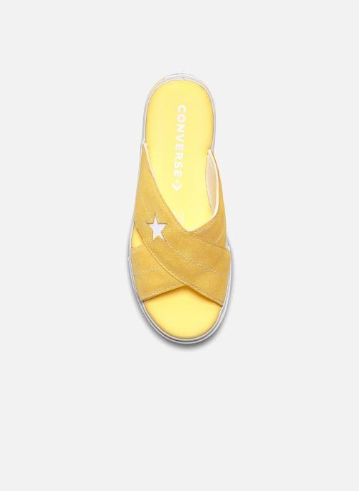 Infradito Converse One Star Sandal Sandalism Slip Giallo immagine frontale