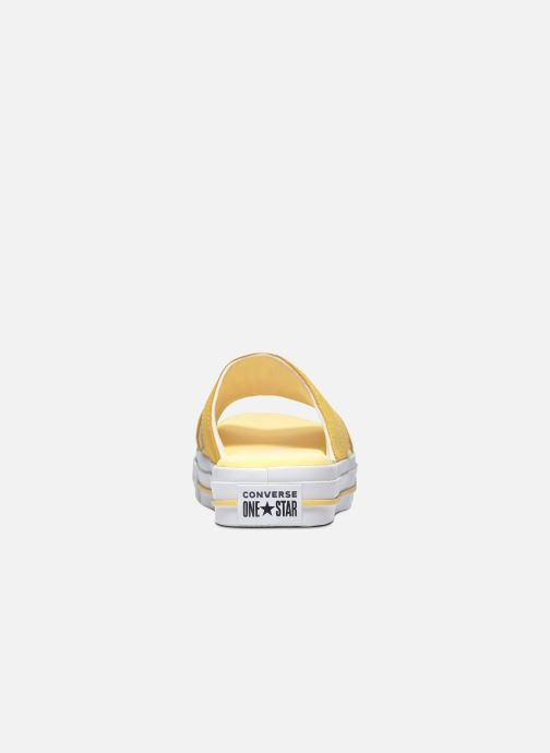 Infradito Converse One Star Sandal Sandalism Slip Giallo immagine posteriore
