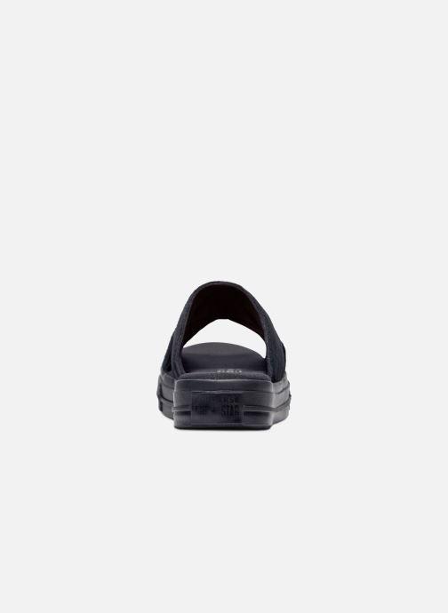 Flip flops Converse One Star Sandal Sandalism Slip Black back view
