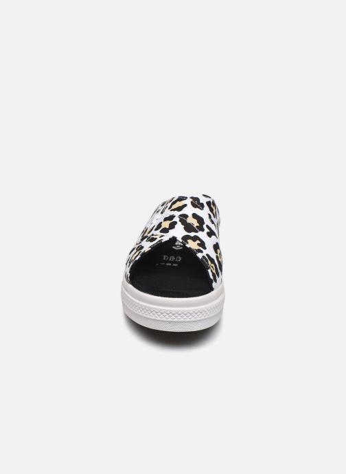 Mules et sabots Converse One Star Sandal Sandalism Slip Blanc vue portées chaussures