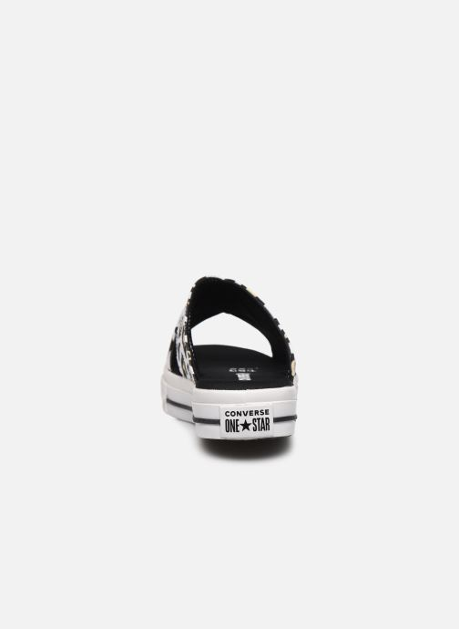 Zuecos Converse One Star Sandal Sandalism Slip Blanco vista lateral derecha