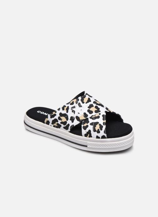 Zuecos Converse One Star Sandal Sandalism Slip Blanco vista de detalle / par
