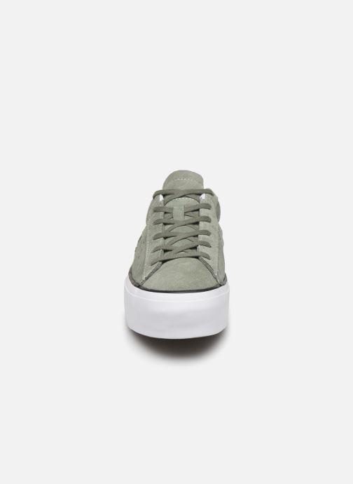 Baskets Converse One Star Platform Seasonal Color Ox Vert vue portées chaussures