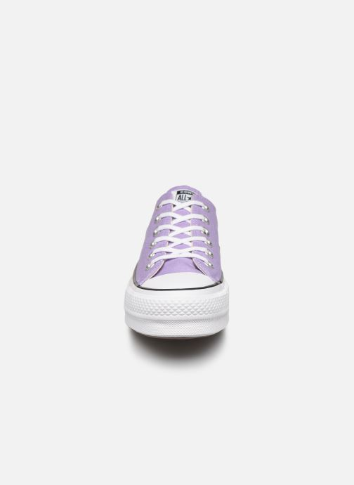 Trainers Converse Chuck Taylor All Star Lift Seasonal Color Ox Purple model view