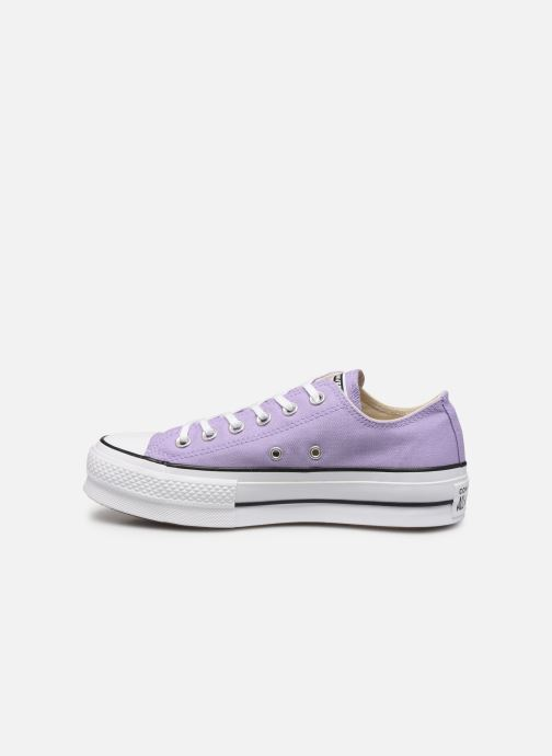 Trainers Converse Chuck Taylor All Star Lift Seasonal Color Ox Purple front view