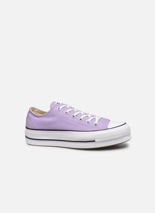 Trainers Converse Chuck Taylor All Star Lift Seasonal Color Ox Purple back view