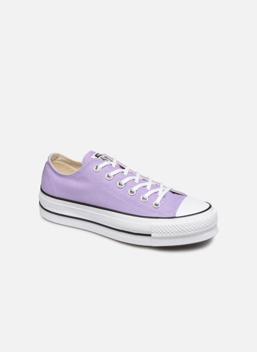 Trainers Converse Chuck Taylor All Star Lift Seasonal Color Ox Purple detailed view/ Pair view
