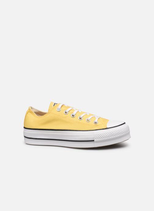 Sneaker Converse Chuck Taylor All Star Lift Seasonal Color Ox gelb ansicht von hinten
