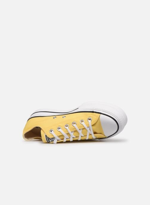 Sneaker Converse Chuck Taylor All Star Lift Seasonal Color Ox gelb ansicht von links