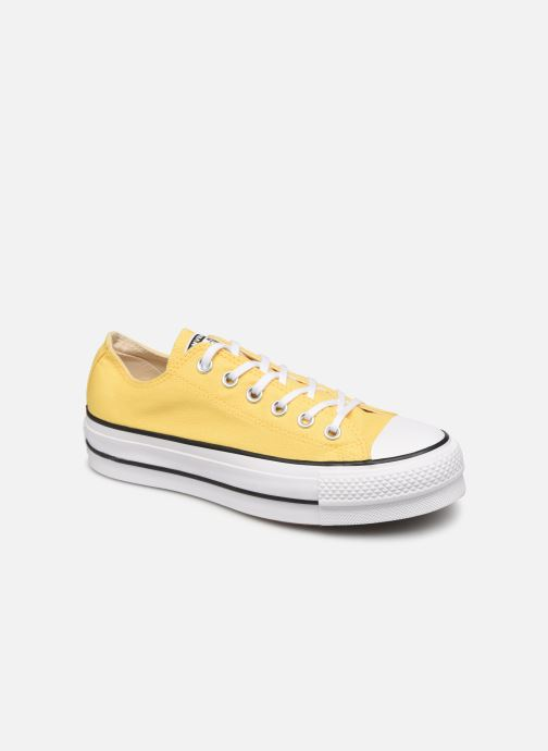 Sneakers Converse Chuck Taylor All Star Lift Seasonal Color Ox Geel detail