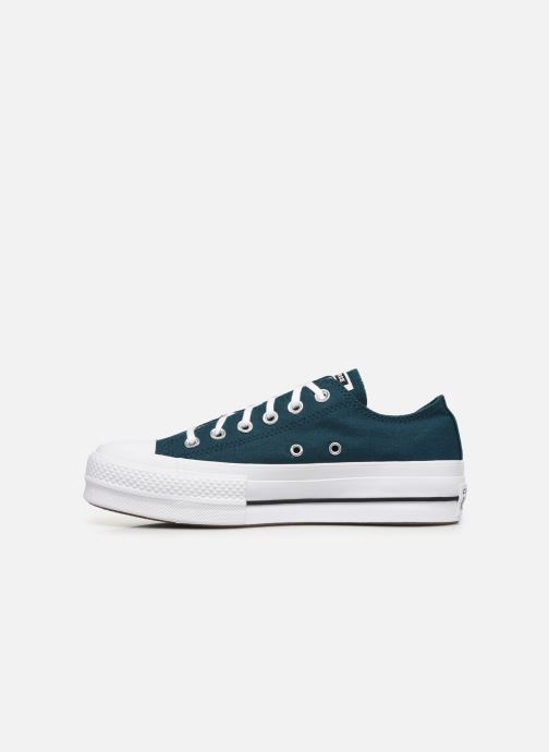 Trainers Converse Chuck Taylor All Star Lift Seasonal Color Ox Blue front view