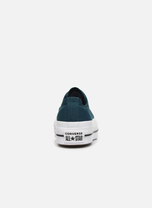 Trainers Converse Chuck Taylor All Star Lift Seasonal Color Ox Blue view from the right
