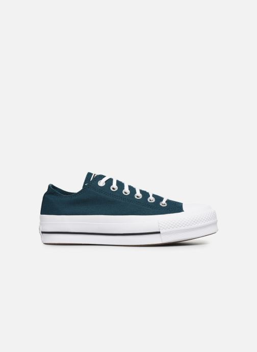 Trainers Converse Chuck Taylor All Star Lift Seasonal Color Ox Blue back view
