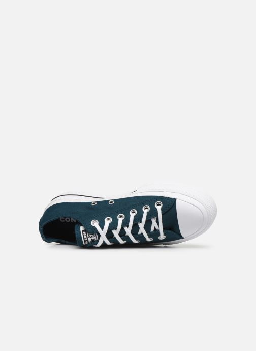 Trainers Converse Chuck Taylor All Star Lift Seasonal Color Ox Blue view from the left