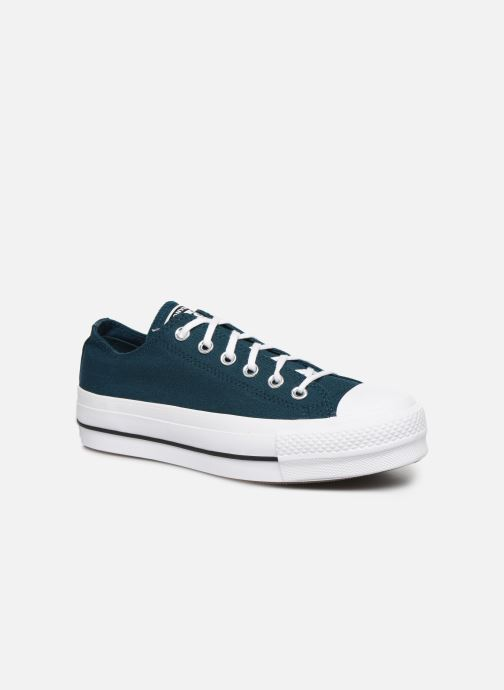 Trainers Converse Chuck Taylor All Star Lift Seasonal Color Ox Blue detailed view/ Pair view