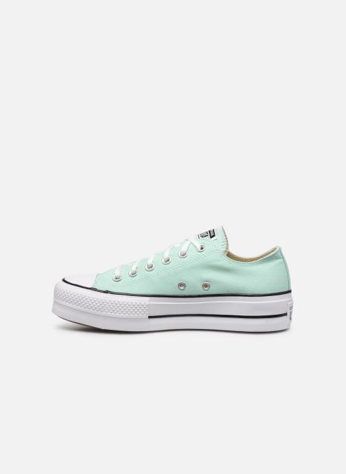 Sneakers Converse Chuck Taylor All Star Lift Seasonal Color Ox Verde immagine frontale
