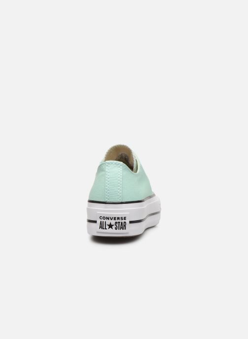 Sneakers Converse Chuck Taylor All Star Lift Seasonal Color Ox Verde immagine destra
