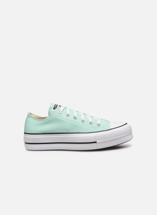 Sneakers Converse Chuck Taylor All Star Lift Seasonal Color Ox Verde immagine posteriore