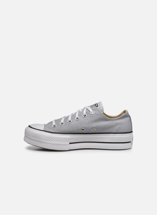 Baskets Converse Chuck Taylor All Star Lift Seasonal Color Ox Gris vue face