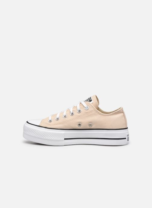 Baskets Converse Chuck Taylor All Star Lift Seasonal Color Ox Beige vue face