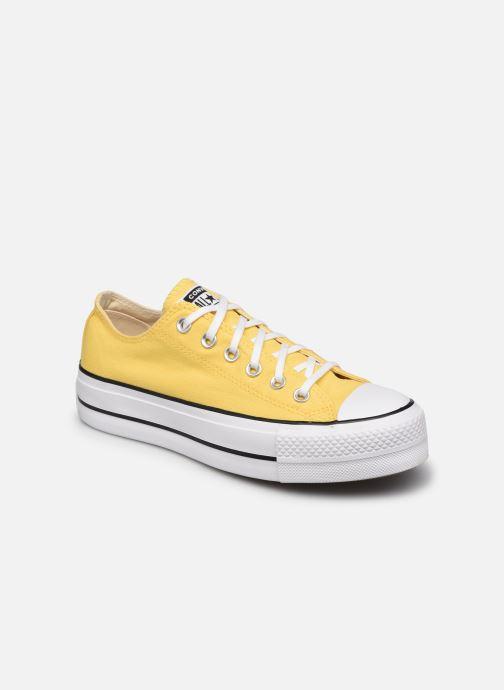 Sneaker Converse Chuck Taylor All Star Lift Seasonal Color Ox gelb detaillierte ansicht/modell