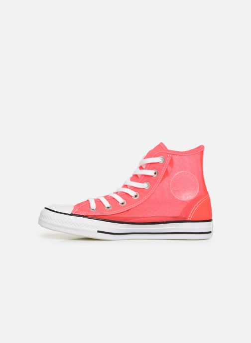 Sneakers Converse Chuck Taylor All Star See Thru Hi Roze voorkant