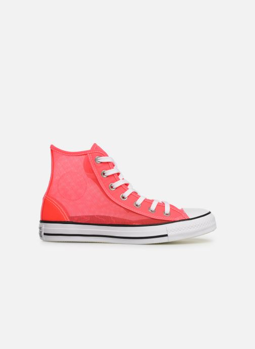 Sneakers Converse Chuck Taylor All Star See Thru Hi Roze achterkant