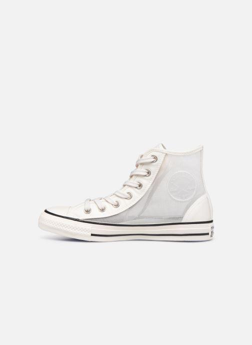 Sneakers Converse Chuck Taylor All Star See Thru Hi Grijs voorkant