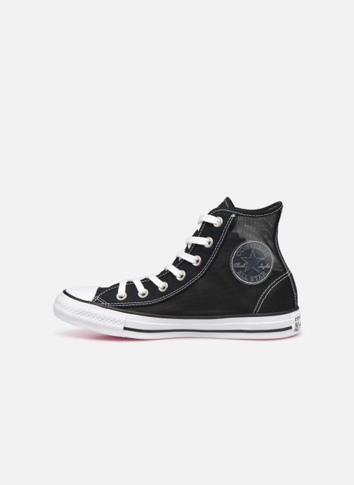 Sneakers Converse Chuck Taylor All Star See Thru Hi Nero immagine frontale