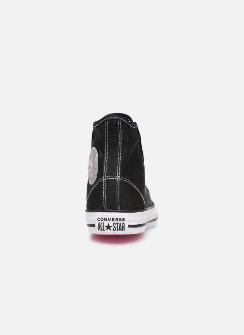 Sneakers Converse Chuck Taylor All Star See Thru Hi Zwart rechts