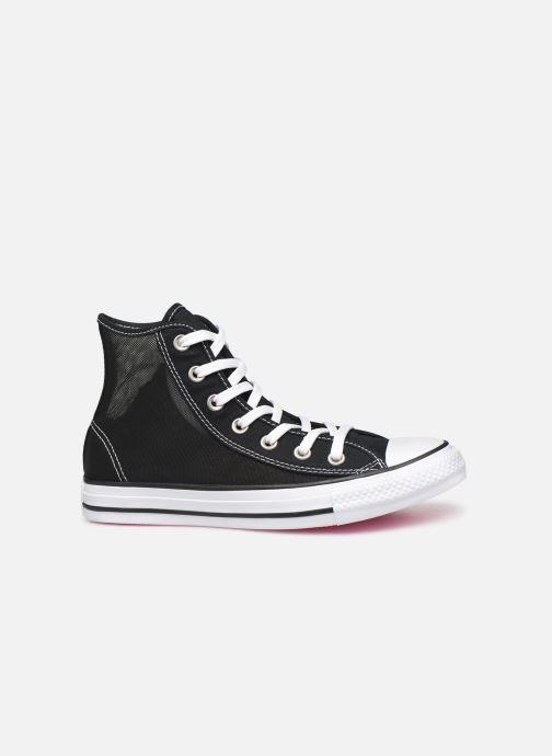 Sneakers Converse Chuck Taylor All Star See Thru Hi Zwart achterkant