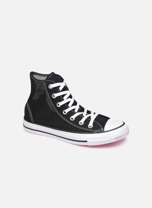 Sneakers Converse Chuck Taylor All Star See Thru Hi Zwart detail